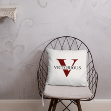 Load image into Gallery viewer, Victorious Basic Pillow