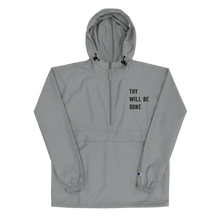 Load image into Gallery viewer, Thy Will Be Done Unisex Embroidered Champion Packable Jacket