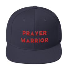 Load image into Gallery viewer, Prayer Warrior Snapback Hat