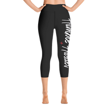 Load image into Gallery viewer, Humble Hustler Black Yoga Capri Leggings