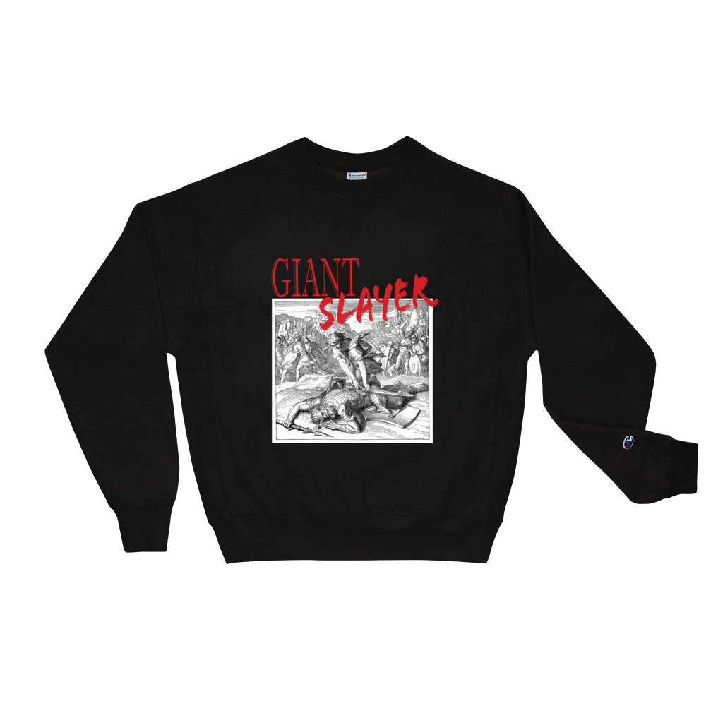 Giant Slayer Unisex Champion Sweatshirt