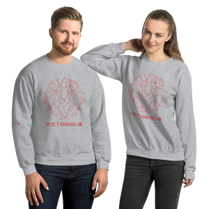 Lion of Judah Red Unisex Sweatshirt