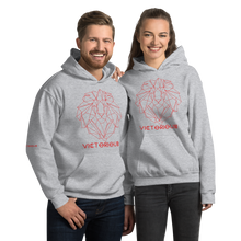 Load image into Gallery viewer, Lion of Judah Red Unisex Hoodie