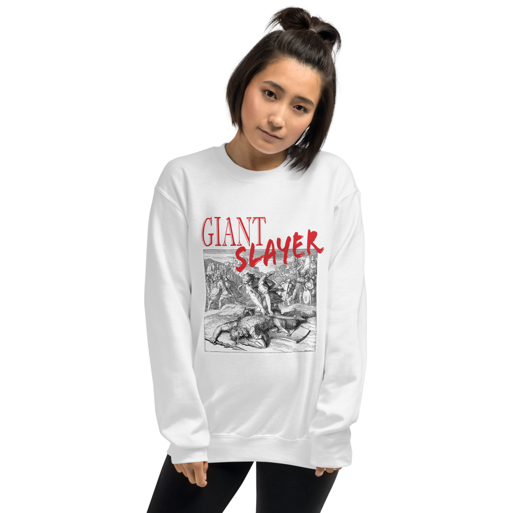 Giant Slayer Unisex Sweatshirt