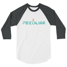 Load image into Gallery viewer, Peculiar 3/4 sleeve raglan shirt