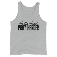 Load image into Gallery viewer, Hustle Hard Pray Harder Unisex  Tank Top