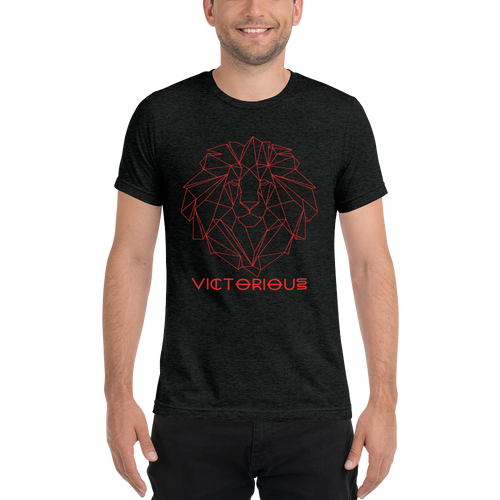 Lion of Judah Red unisex short sleeve t-shirt