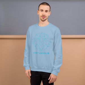 Lion of Judah Blue Unisex Sweatshirt