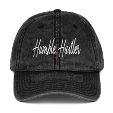 Load image into Gallery viewer, Humble Hustler Vintage Cotton Twill Cap