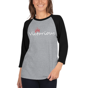 Victorious Women 3/4 sleeve raglan shirt
