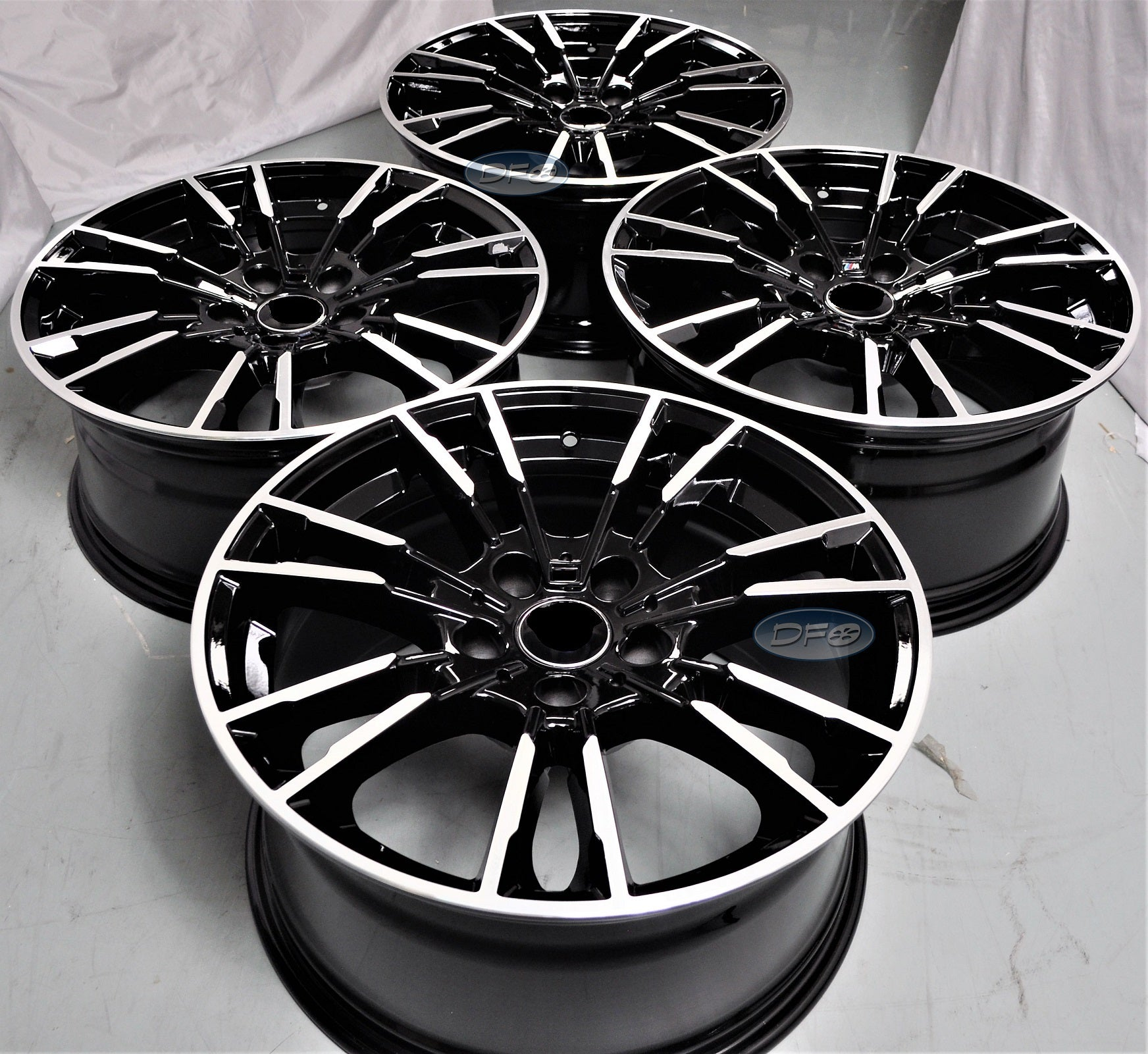 19 Inch Staggered Black Wheels Rims Full Set Of 4 Fit For Bmw 1 2 Md Auto Workshop