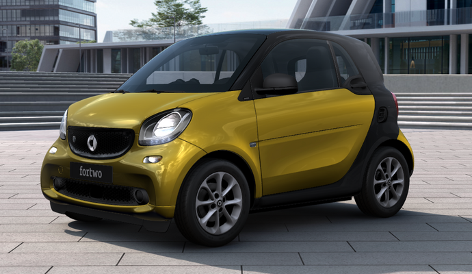 Noleggio Lungo Termine SMART FORTWO COUPÈ EQ 60kW Youngster - Spark Consulting