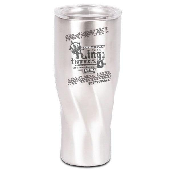 2020 King of the Hammers 30oz Twisted Sippa, Stainless