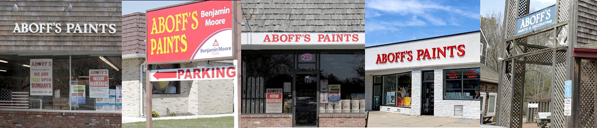 Aboff's Paints Hamptons Locations For Benjamin Moore Paints