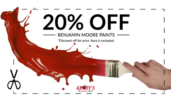 Aboff's 20% Off In-Store Coupon