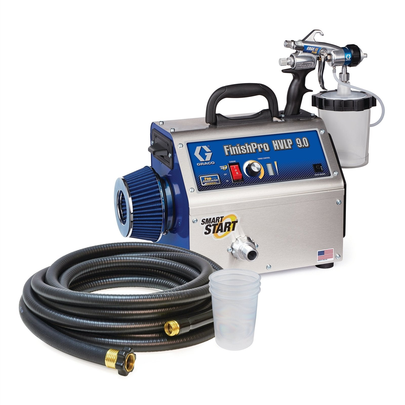 Graco 9.0 Pro Contractor HVLP Paint Sprayer, available at Aboff's in New York and Long Island.