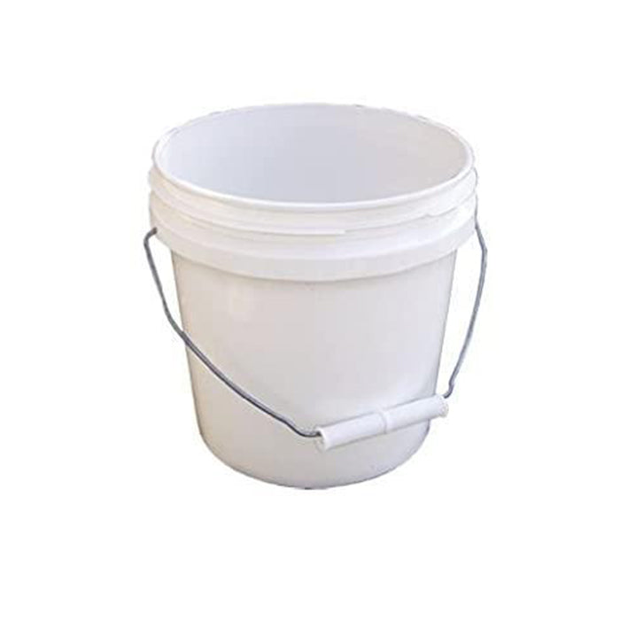 1 Gallon White Plastic Pail, available at Aboff's in Long Island and New York.