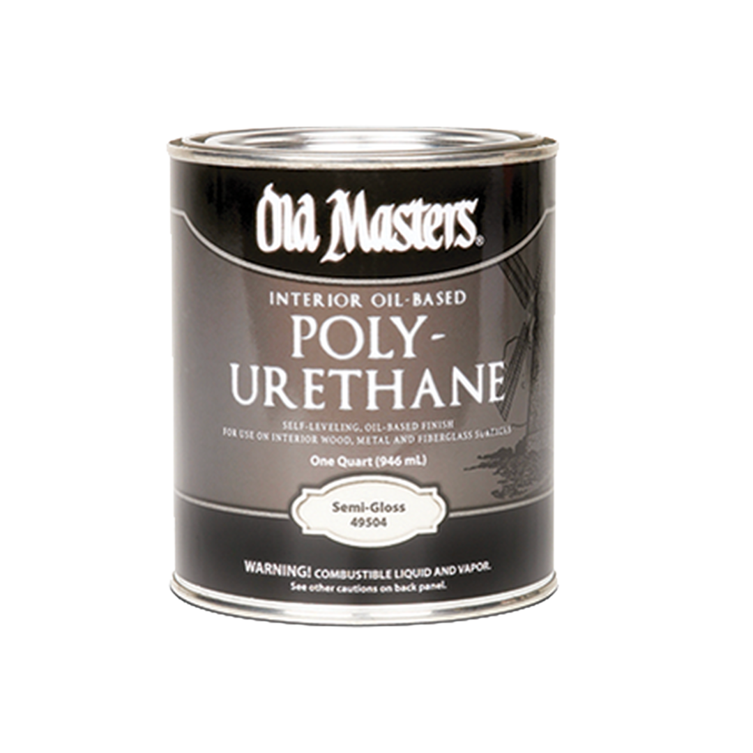 Old Masters Poly-Urethane Clear Quart