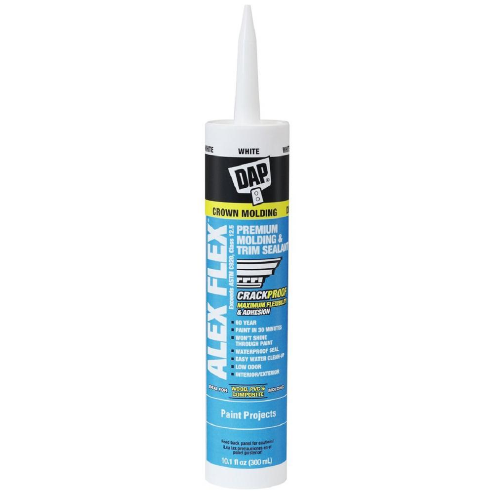 Alex Flex caulking, available at Aboff's in Long Island and New York.