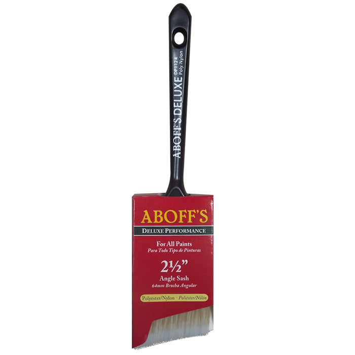 "Aboff's Angular 2.5"" Sash Brush, available at Aboff's in New York and Long Island."