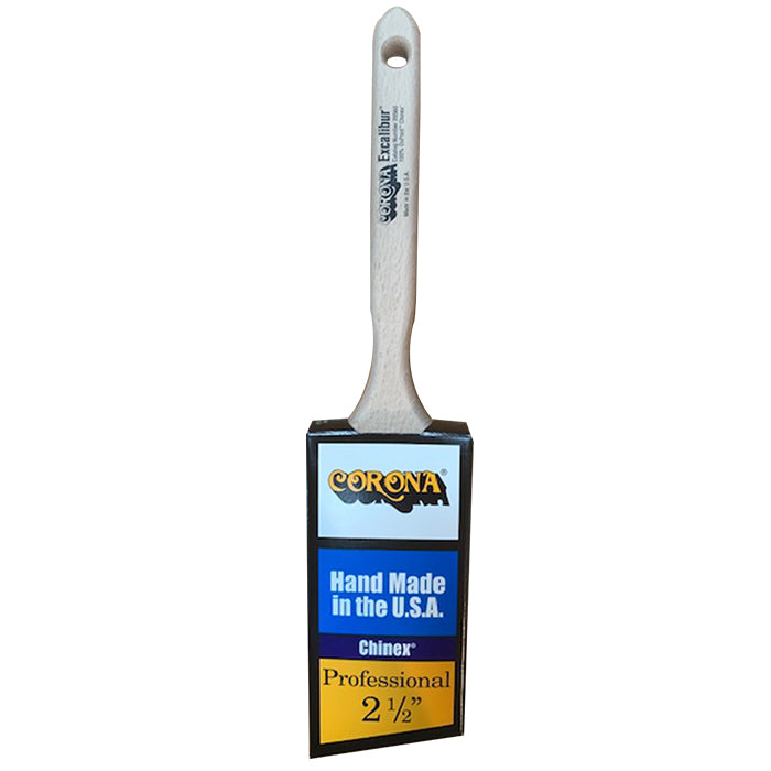 Corona Excalibur paint brush in cover, available at Aboff's in Long Island and New York.