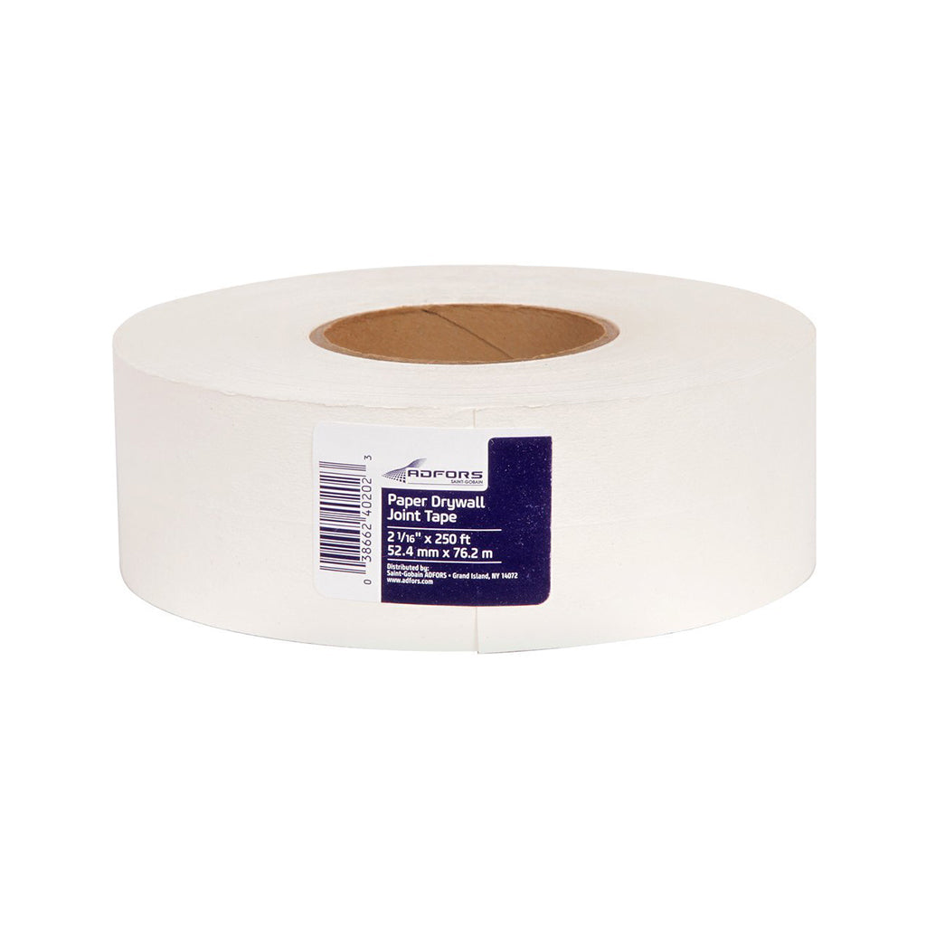 Paper Drywall Joint Tape, available at Aboff's in New York and Long Island.