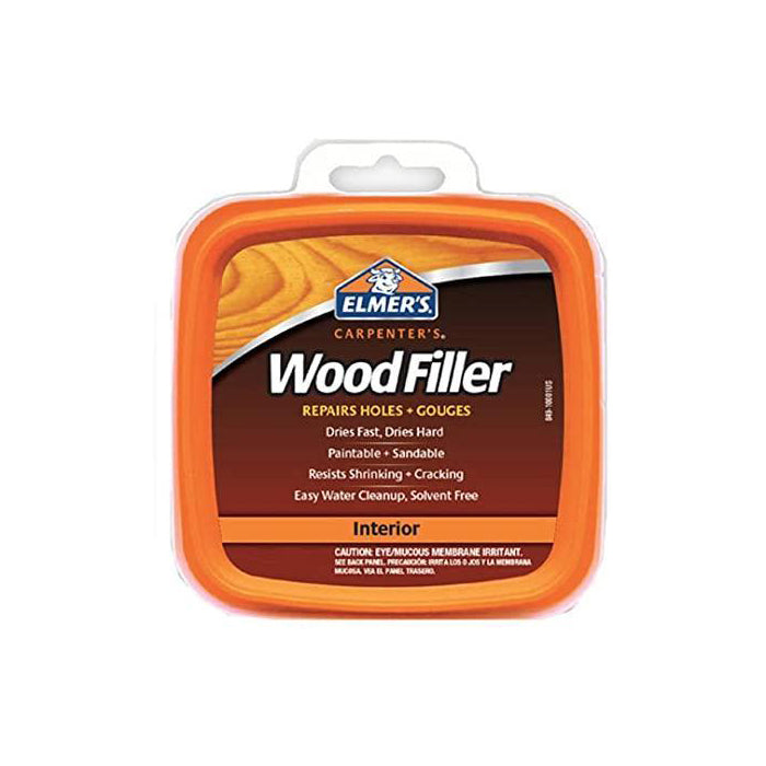 Elmer's interior wood filler, available at Aboff's in New York and Long Island.
