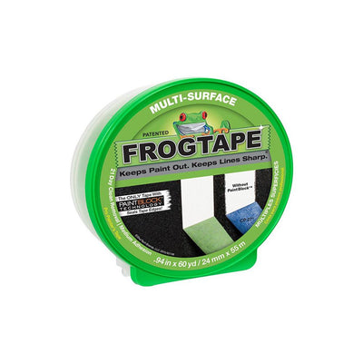 FrogTape multi-surface painter's tape in packaging, available at Aboff's in Long Island and New York.