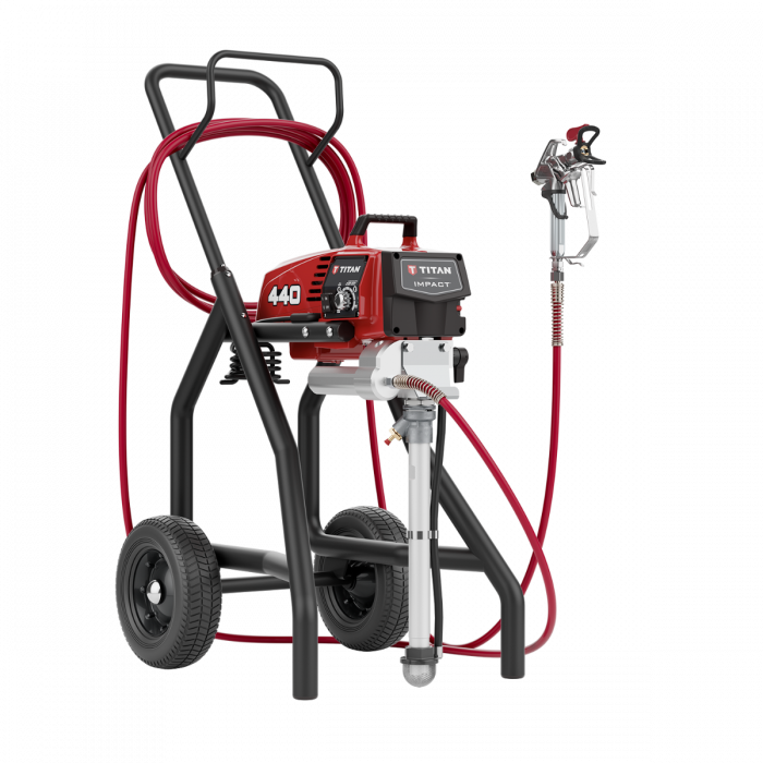 Titan Impact 440 Hi Rider Paint Sprayer, available at Aboff's in New York and Long Island.