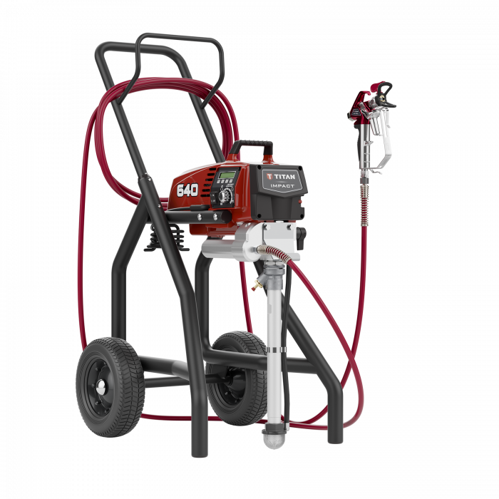 Titan Impact 640 Hi Rider Paint Sprayer, available at Aboff's in New York and Long Island.