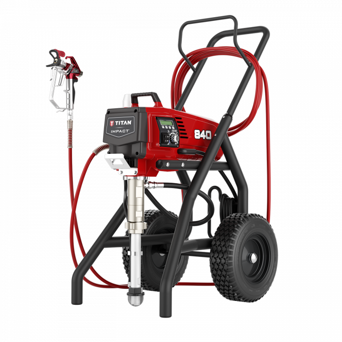 Titan Impact 840 Hi Rider Paint Sprayer, available at Aboff's in New York and Long Island.