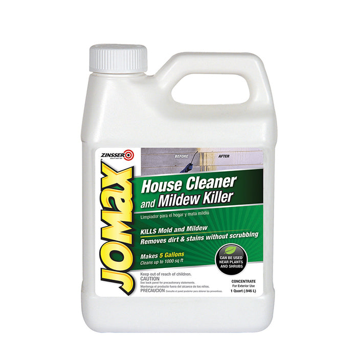 Jomax Exterior house cleaner, available at Aboff's in Long Island and New York.