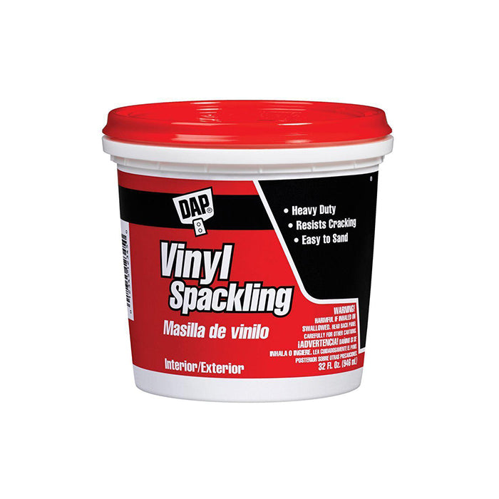 DAP Vinyl Spackling, available at Aboff's in New York and Long Island.