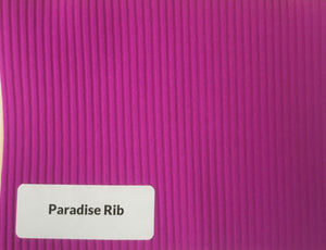 Ribbed Texture SWIM Spandex - All Colours