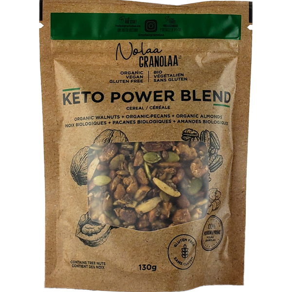 *New: Nolaa Granolaa Organic Keto Power Blend