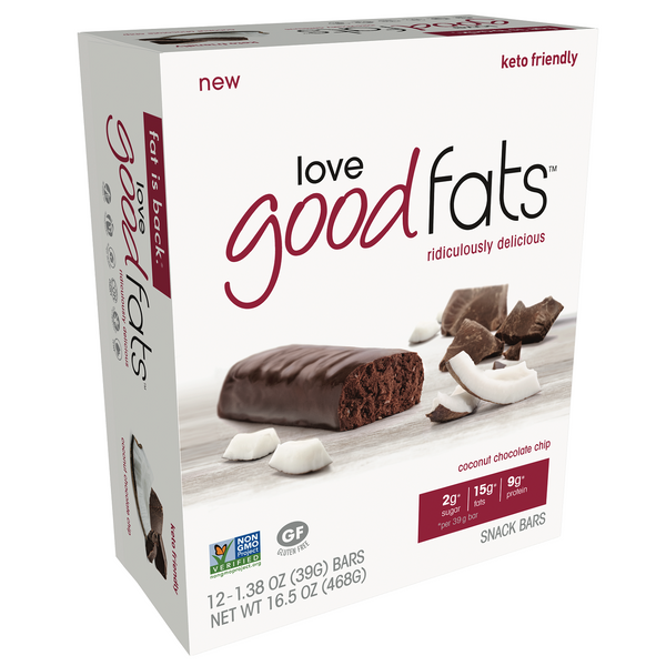 love good fats Keto Bars [4-Pack]