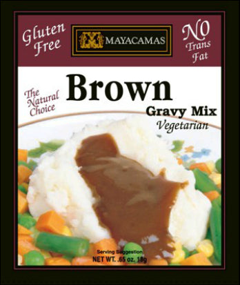 Mayacamas Vegetarian Brown Gravy Mix [12-Pack]