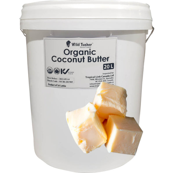 *New Wild Tusker Organic Coconut Butter (Foodservice Size)