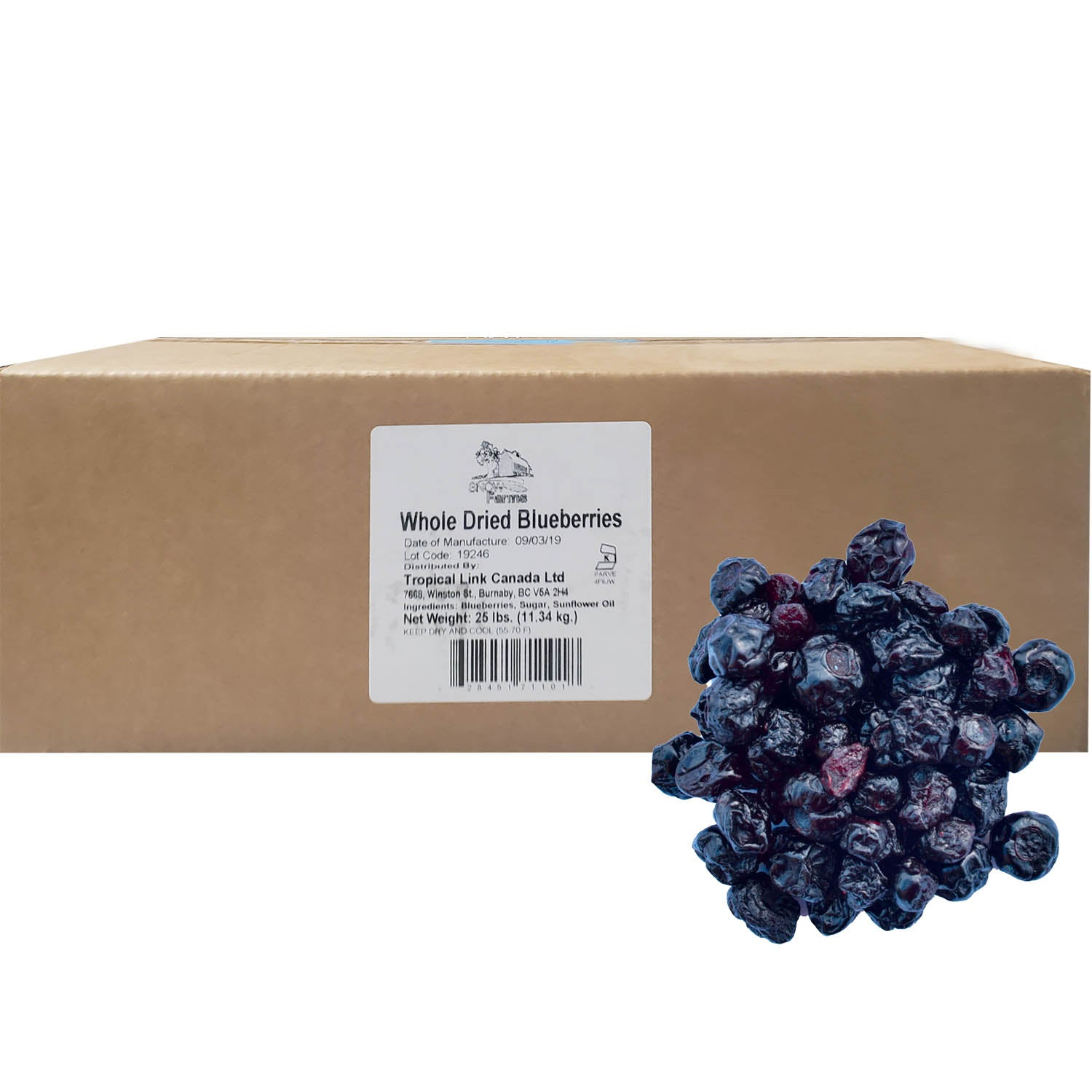 Snow Farms Canadian-Grown Dried Berries (Foodservice Size)