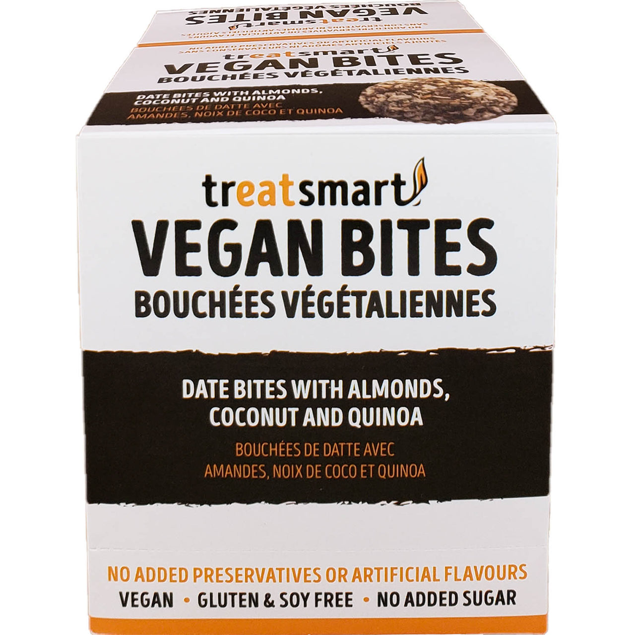 TreatSmart Grab and Go Vegan Date Bites Snacks [8-Pack], Nov Promo - 20% Off