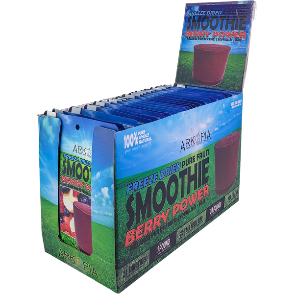 *New: Arkopia Freeze Dried Smoothies [24-Pack], Launch Until May 21 Promo - 15% Off