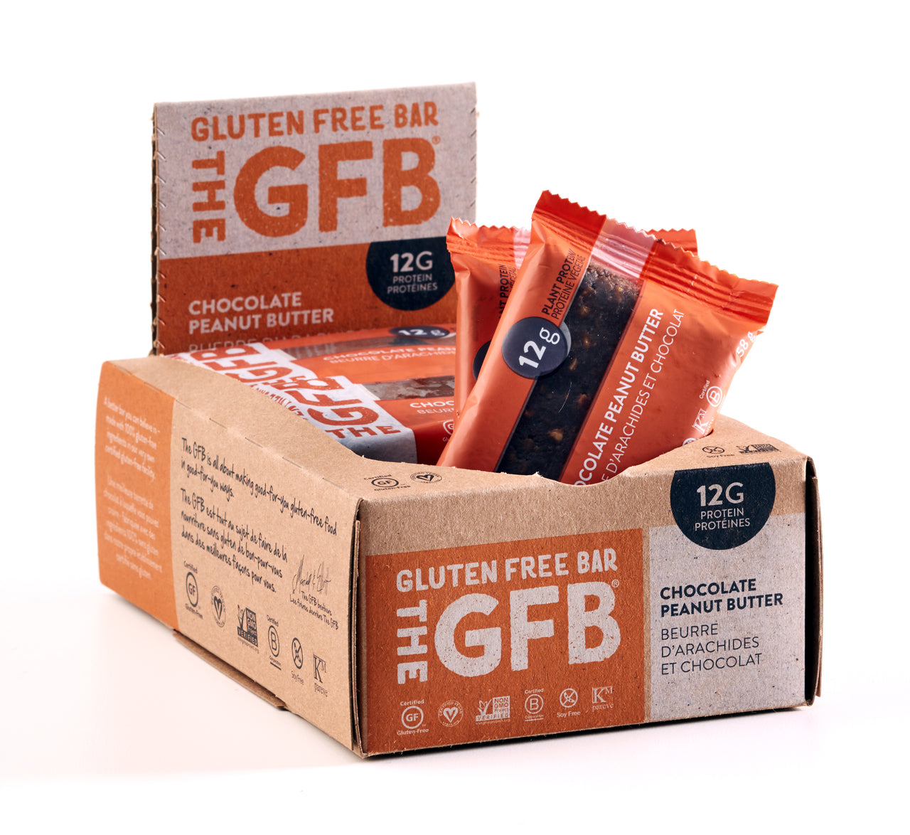 The GFB Gluten Free Bars [12 Pack]