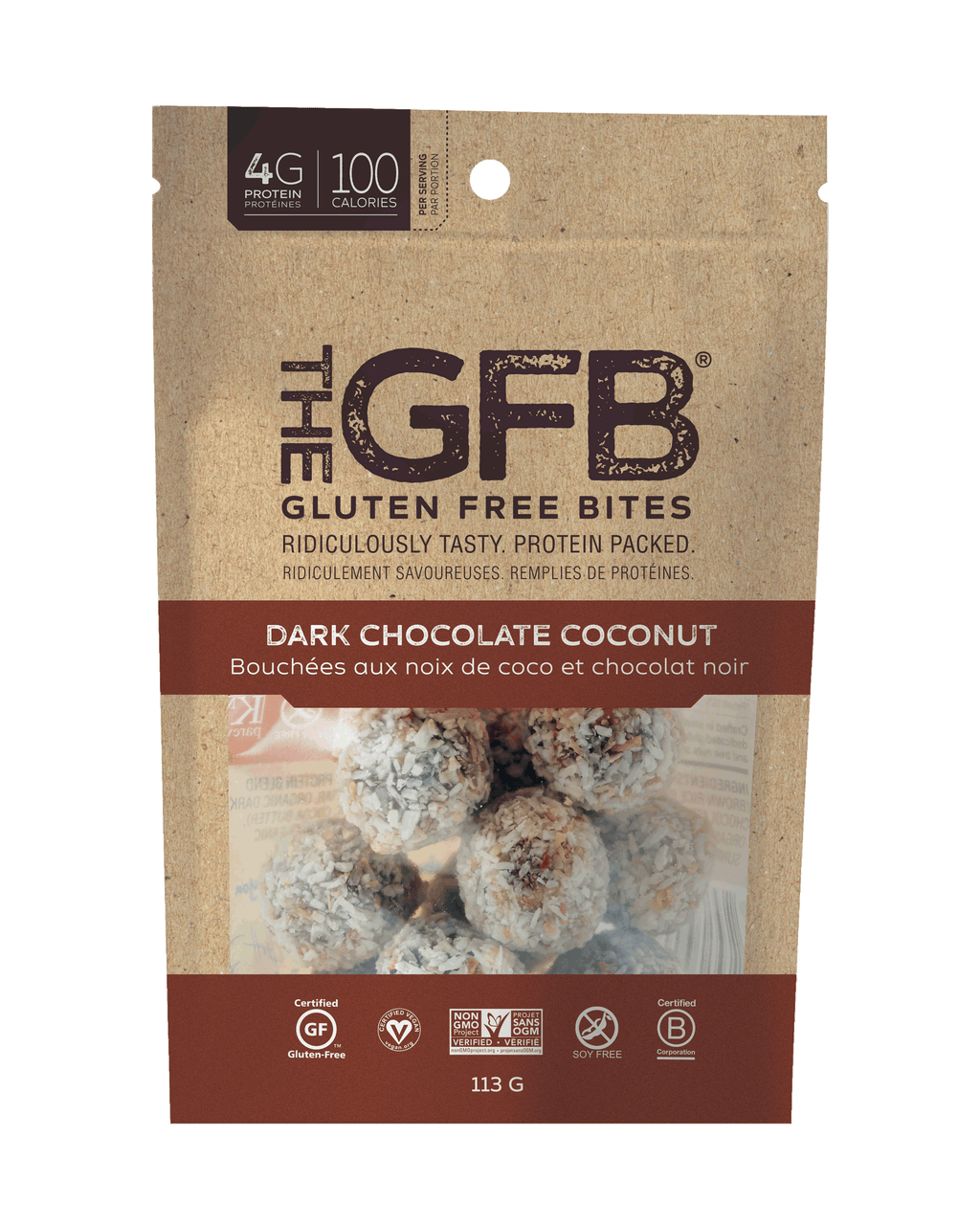 The GFB Gluten Free Bites *New SKUs