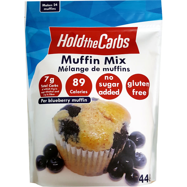 HoldTheCarbs Muffin Mixes with Stevia, May 1-21 Promo - 20% Off (Large Bags Only)
