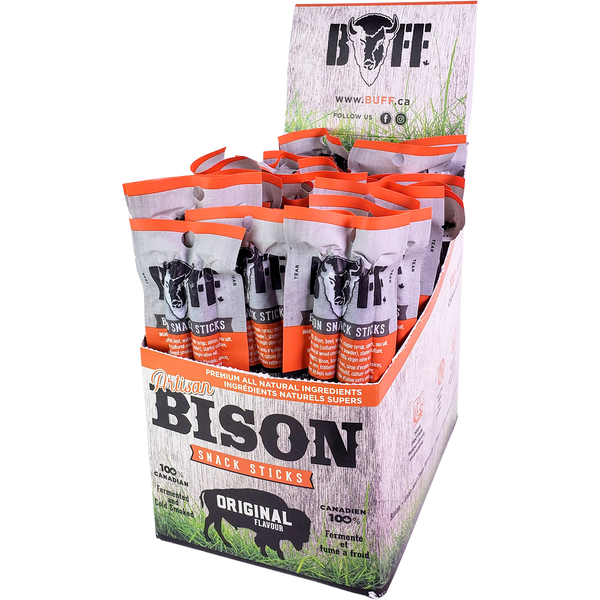 BUFF Artisan Bison Sticks Small Packages [30-Pack]