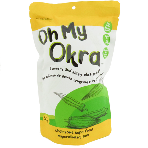 Oh My Okra - Crunchy Superfood Snack
