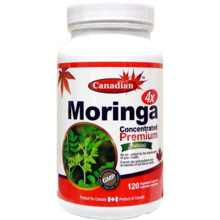 Canadian Naturals Moringa 4x Concentrated Premium
