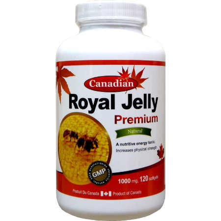 Canadian Naturals Royal Jelly (1000mg)