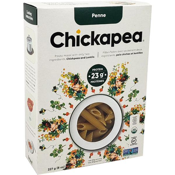 *New SKUs: Chickapea Pasta - Chickpea and Lentil Pastas