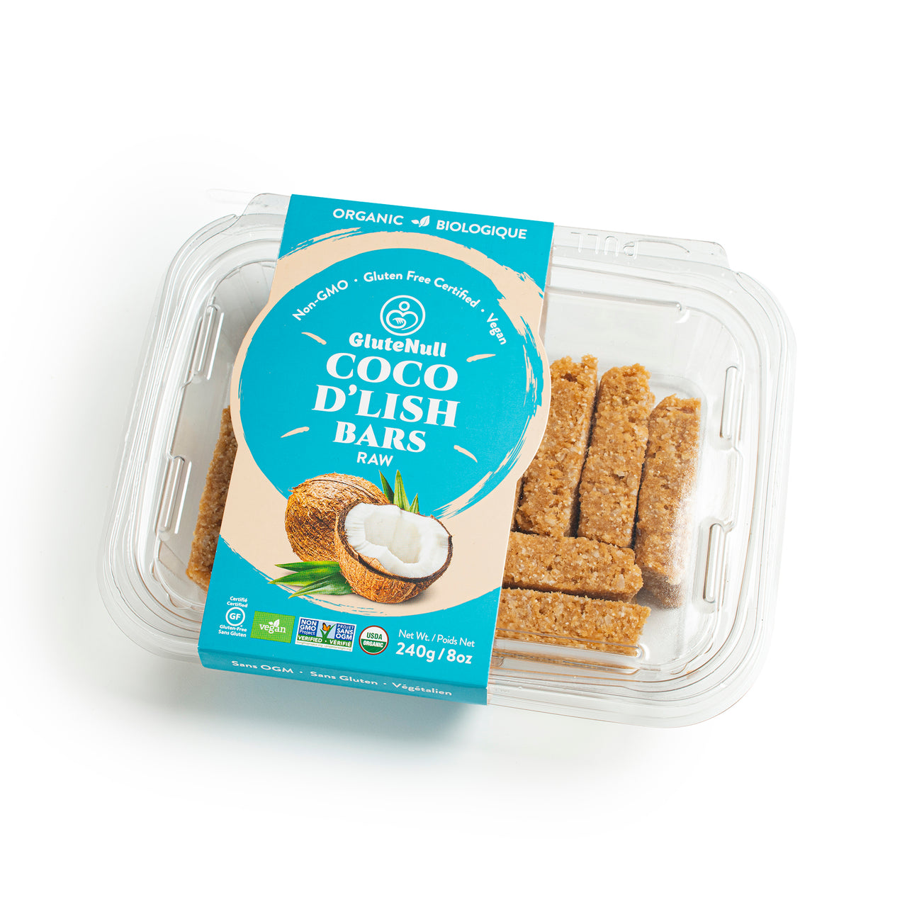 GluteNull Bakery Organic Raw Coco D'Lish Bar, Feb. Promo - 20% Off
